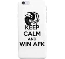 AFK WIN iPhone Case/Skin