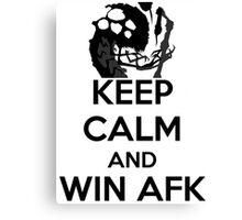 AFK WIN Canvas Print