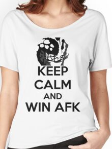 AFK WIN Women's Relaxed Fit T-Shirt