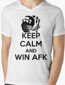 AFK WIN Mens V-Neck T-Shirt