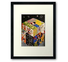 Eighties Trouble Framed Print