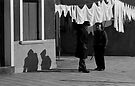 Two Men, Burano by pmreed