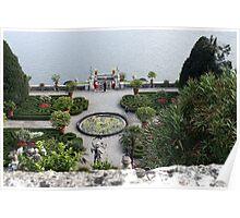 Isola Bella - Gardens - Lake Maggiore Poster