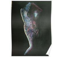 Metallic Female Torso Poster
