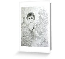 Sorrowful Queen of Ireland Greeting Card