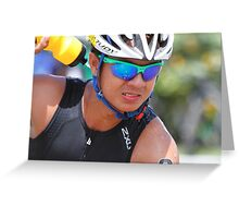 70.3 IronMan Philippines 2015 Greeting Card