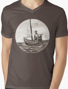 Slack Tide Mens V-Neck T-Shirt