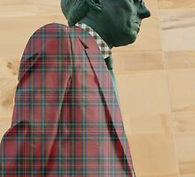Donald Dewar Statue, Buchanan Street, Glasgow, Scotland by simpsonvisuals