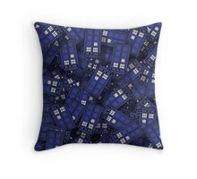 Tardises Throw Pillow