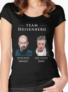 Team Heisenberg Women's Fitted Scoop T-Shirt