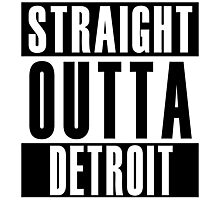 Straight Outta Detroit Photographic Print
