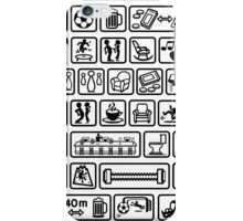 Life in the icon iPhone Case/Skin