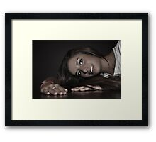 """"""" Mercedes With Love """" Framed Print"""