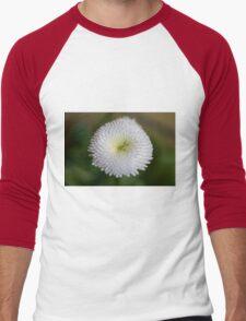 flower in the garden Men's Baseball ¾ T-Shirt