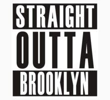 Straight Outta Brooklyn One Piece - Short Sleeve