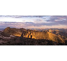 Sunrise in the Rockies Photographic Print