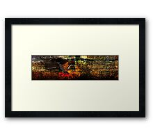 Simbiosis-b-by blood Framed Print
