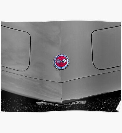 Corvette, by Chevrolet Poster