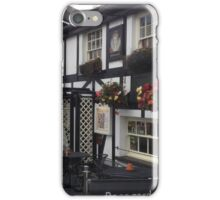 The Queen's Head Inn, Hawkeshead, UK iPhone Case/Skin