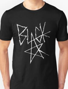 Soul eater - Black Star Signature (White) T-Shirt