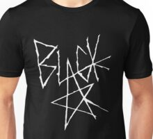 Soul eater - Black Star Signature (White) Unisex T-Shirt