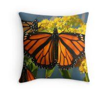monarch limbo  01 Throw Pillow