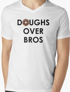 Doughs Over Bros Mens V-Neck T-Shirt