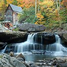 Glade Creek Gristmill by Jason Vickers