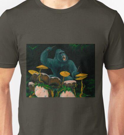 Gorilla Jungle Drums T-Shirt