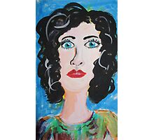 Miss Curly Top Photographic Print