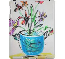 flowers that be iPad Case/Skin