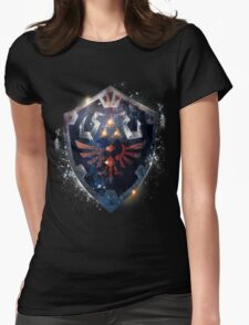 Shield the Legend Of Zelda Womens Fitted T-Shirt