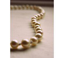 pearls.. Photographic Print