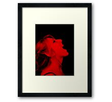 Vampire Red Framed Print