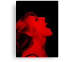 Vampire Red Canvas Print