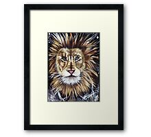 Big Cat Series Lion  Framed Print