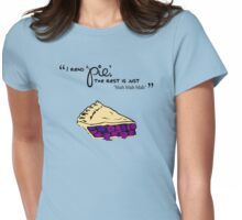 Pie (Light Colors) Womens Fitted T-Shirt