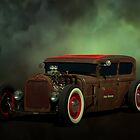 1928 Ford Sedan Rat Rod by TeeMack
