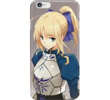 Artwork of Saber from Fate Series iPhone Case/Skin