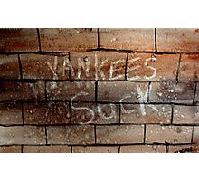 yankees suck Photographic Print
