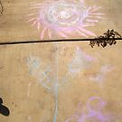 Sidewalk Chalk Flower by Dan McKenzie