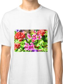 Floral Design 5 Light Classic T-Shirt