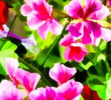 Floral Design 5 Light Sticker