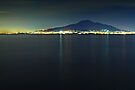 Vesuvius, Bay of Naples, Italy. by David Lewins