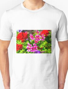 Floral Design 5 Dark Unisex T-Shirt