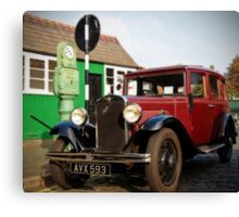 1935 Austin Ruby Saloon Canvas Print