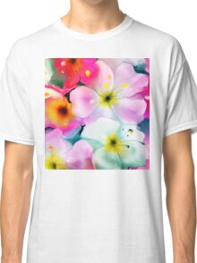Bunch of flowers. Watercolor Classic T-Shirt