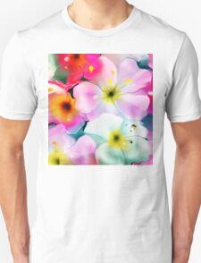 Bunch of flowers. Watercolor Unisex T-Shirt