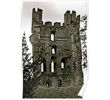 Castle of Helmsley. Poster