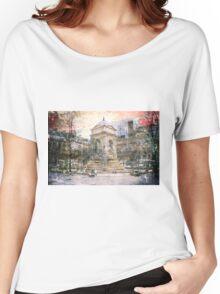 Parisian Mosaic - Piece 27 - Fontaine des Innocents Women's Relaxed Fit T-Shirt